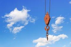Crane hook Stock Photo