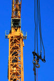 Crane With Hooks Royalty Free Stock Photography