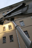 crane hydrauliczny Zdjęcie Stock