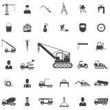 Crane Icon illustration libre de droits