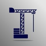 Crane Icon Royaltyfri Fotografi