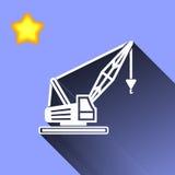 Crane Icon Fotografering för Bildbyråer