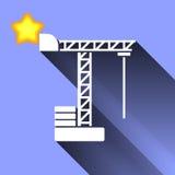 Crane Icon Fotografía de archivo