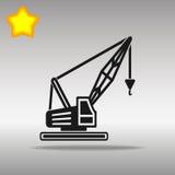 Crane Icon Royaltyfri Illustrationer