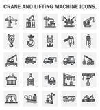 Crane icons Stock Image