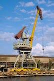 crane il porto del cavalletto Immagini Stock Libere da Diritti