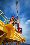Crane inspector, crane inspector on the job inspec crane operati royalty free stock image