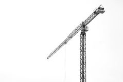 Crane isolated Royalty Free Stock Images