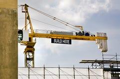 Crane jig Stock Image
