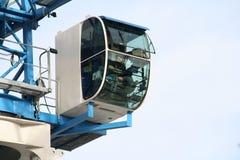 crane kabiny zdjęcie stock