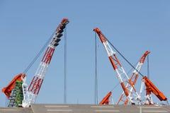 Crane l'asta immagine stock