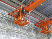 Crane for large industrial plants. Stock Photo