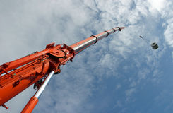 Crane Lift Royalty Free Stock Images