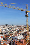 Crane in Lisboa Stock Image