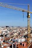 Crane in Lisboa Stock Image