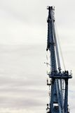 The crane for loading of freights on the ships Royalty Free Stock Photo