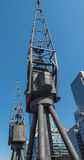 Crane in London Stock Photo