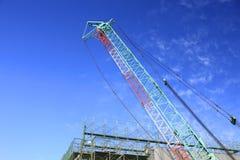 Crane (macchina) Fotografia Stock Libera da Diritti