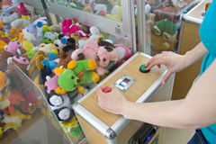 Crane machine Royalty Free Stock Images