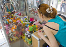 Crane machine Stock Image