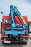 Crane manipulator car platform€ Royalty Free Stock Photos