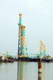crane marine Fotografia Royalty Free