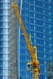 Crane in Milan new skyscraper area Royalty Free Stock Photography