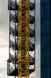 Crane and mirrors Stock Photography
