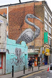 Crane Mural da Roa fotografia stock libera da diritti