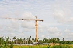 Crane near building Royalty Free Stock Photos