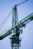 Crane at nigth. Stock Photos