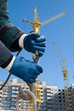 Crane o gancho Imagens de Stock Royalty Free