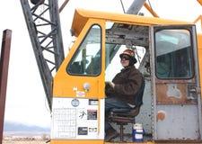 Crane operator Stock Images