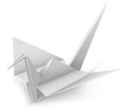 Crane Origami Stock Photo