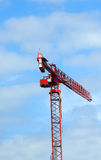 Crane over Madison Wisconsin Stock Images