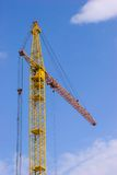 Crane over the sky royalty free stock photo