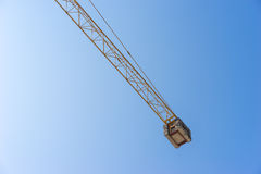 Crane Part and Blue Sky Stock Photos