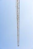 Crane Part and Blue Sky Stock Photo
