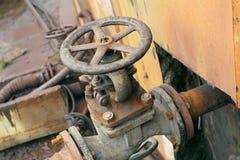 Crane pipeline Royalty Free Stock Photography