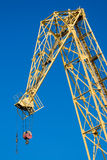 Crane in the port Royalty Free Stock Photo