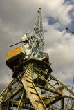 The crane at the port. Royalty Free Stock Photo