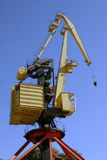 Crane. At the port, Argentina Stock Photo