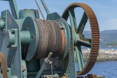 Crane port. Royalty Free Stock Photography