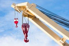 crane przemysłowe Zdjęcia Royalty Free