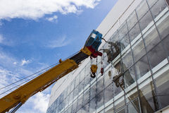 crane przemysłowe Zdjęcia Stock