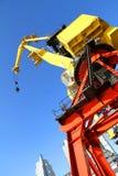 Crane in Puerto Madero Stock Photography