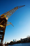 Crane in Puerto Madero Buenos Aires Royalty Free Stock Photography