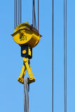 Crane pulley Royalty Free Stock Photo
