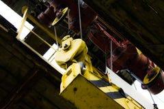 Crane rail Royalty Free Stock Image