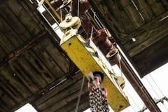 Crane rail Royalty Free Stock Images